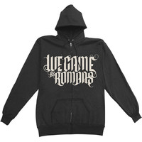 We Came As Romans Men's  To Plant A Seed Zippered Hooded Sweatshirt Black