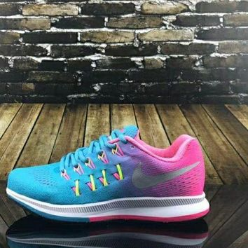 DKJN6 NIKE AIR ZOOM PEGASUS cushioned sports running shoes