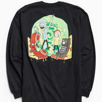Rick & Morty Long Sleeve Tee | Urban Outfitters