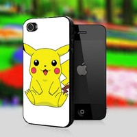 Pokemon - Pikachu Arceus Cute - Print On Hard Cover For iPhone 5