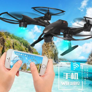 Headless Drone JXD 509W WiFi FPV Camera High Hold Mode 2.4GHZ 4CH 6-Aixs RC Quadcopter RTF Mini Drone with camera