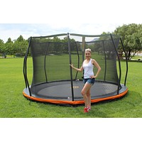13ft. In-ground Trampoline & Safety Net Combo *European Design*
