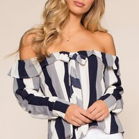 Something Sweet Top - Navy