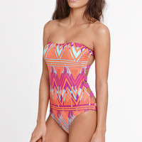 LA Hearts Banded Back One Piece at PacSun.com
