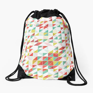 Colorful Abstract Geometric Triangle Pattern by sale