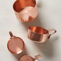 Russet Measuring Cups by Anthropologie Copper Measuring Cups Kitchen