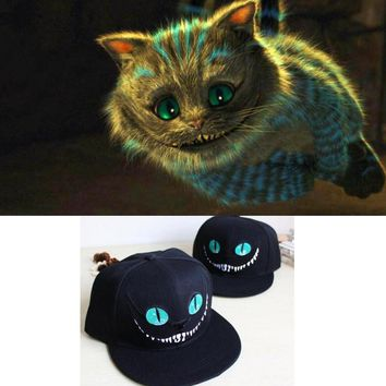 Anime Kawaii Alice in Wonderland Cheshire cat Toy Kid's Party Cartoon Hats baby Gift Toy Brithday Cosplay Hats Soft Cute Toy