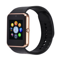Original GT08 Smart Watch Electronic Clock Bluetooth Sim Card Smartwatch Sync Notifier Connectivity For Apple IOS Android Phone
