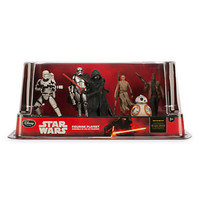 disney store star wars the force awakens figurine play set new with box