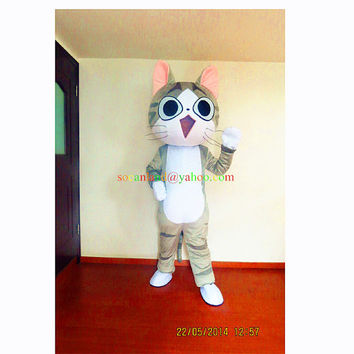 Cat Cartoon Animal Mascot Costumes, Cosplay Costumes, Costume for Adults,Clothing, Party Costume for Halloween,Christmas,Birthday,Party Wear