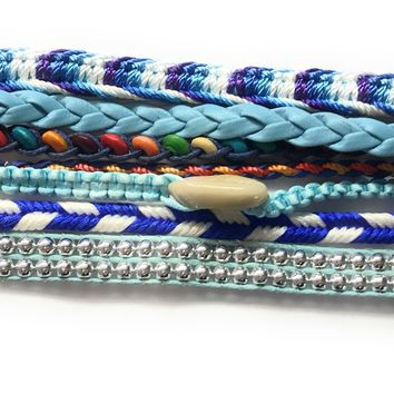 Bohemian Magnetic Friendship Bracelets