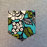 Frocket with Vera Bradley Island Bloom fabric