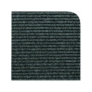 Multy Home MT1001722 Concord Utility Carpeted Floor Runner, Charcoal, 3' x 4'
