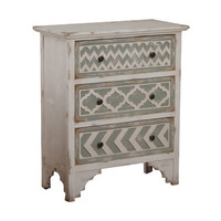 Powell Aubrey 3 Drawer Chest