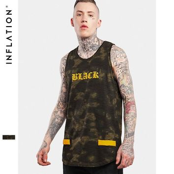 HCXX INFLATION Summer Tank Top Light Wash Exclusive Pattern