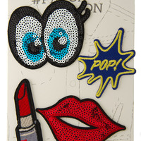 Sequin Iron-on Patch Set