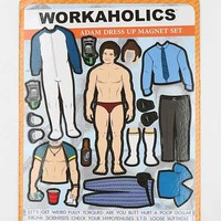 Workaholics Magnet- Washed Black One