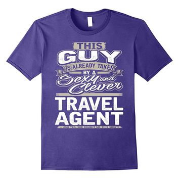 Travel Agent Shirt Gift For Boyfriend Husband Fiance 1