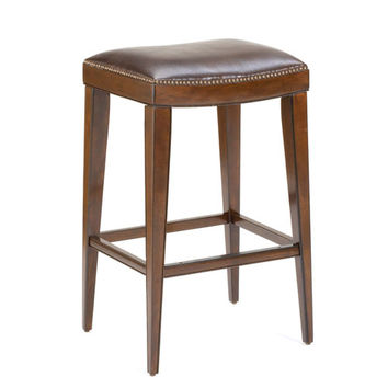 Hillsdale Furniture 4659-830 Riverton Rustic Cherry Backless Bar Stool (Clearance Priced)