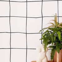 Wonky Grid Removable Wallpaper | Urban Outfitters