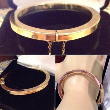gold page bracelet bangles product eternagold oval domed bangle