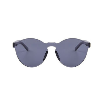Factory Girl Transparent Candy Colored Sunglasses