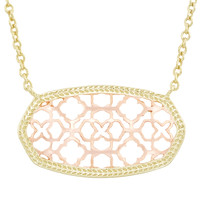 Kendra Scott Dollie Necklace - Rose Gold & Gold