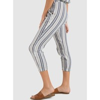Side Fray Stripe Jogger