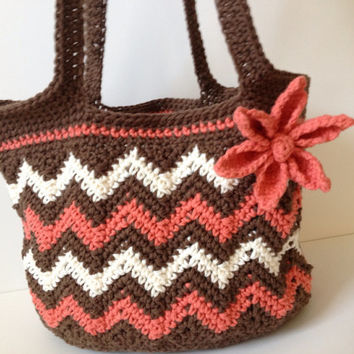 Free Crochet Chevron Purse Pattern : Best Chevron Crochet Pattern Products on Wanelo
