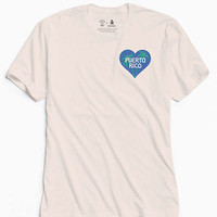 UO Community Cares + Hurricane Relief Puerto Rico Heart Tee | Urban Outfitters