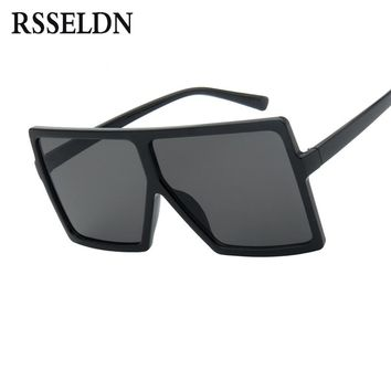Oversized Big Frame Square Sun Glasses 46
