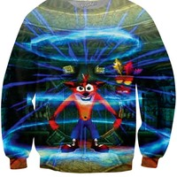 Crash Bandicoot 2 Crewneck Sweatshirt