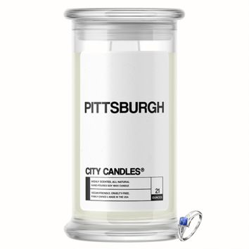 Pittsburgh City Jewelry Candle