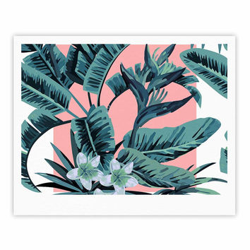 "Kess Original ""Monstera"" Nature Pop Art Fine Art Gallery Print"