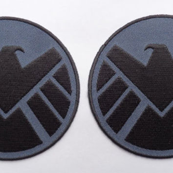 Avengers Movie Shield Costume Shoulder Patch Set of 2 [3.5 Inches]