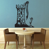 Rapunzel and Her Prince Wall Decal