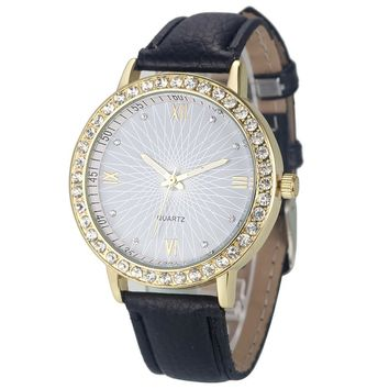 New 2017 Geneva watch Women Diamond Analog Ladies Watch