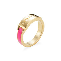 Marc by Marc Jacobs Jewelry Women's Engraved Ring - Pink -