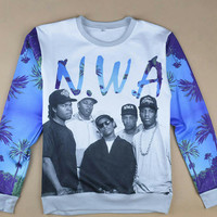 N.W.A. OG  all over print  Shirt
