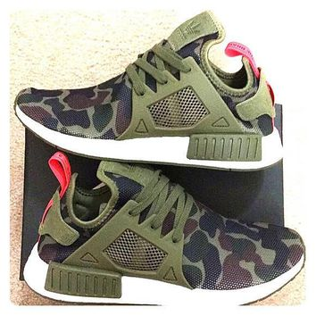 """Adidas"" NMD XR1 Duck Camo Women Men Running Sport Casual Shoes Sneakers Camouflage Wh"
