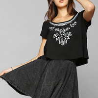 Cooperative Go Go Sparkle Top - Urban Outfitters