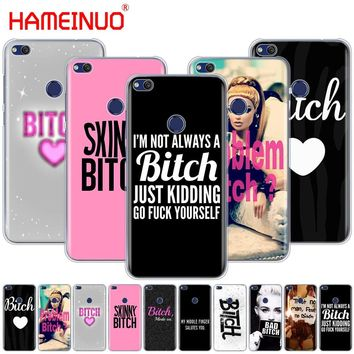HAMEINUO I'M NOT ALWAYS A BITCH Cover phone Case for huawei Ascend P7 P8 P9 P10 P20 lite plus pro G9 G8 G7 2017