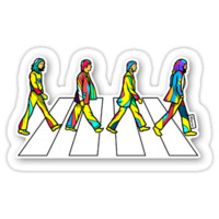 'Beatles' Sticker by sfvn