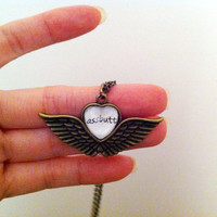 Castiel - Supernatural Inspired - Assbutt Necklace