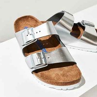 Birkenstock Metallic Arizona Soft Footbed Slide - Urban Outfitters