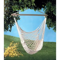 Natural Cotton Rope Hanging Hammock Chair