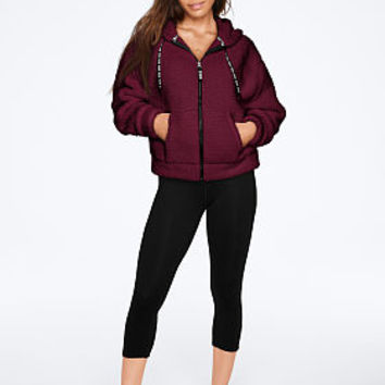 Sherpa Full-Zip - PINK - Victoria's Secret