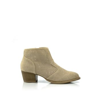 TERRI Perforated Ankle Boot