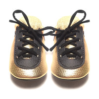 Workout Gold Kicks Moccasins