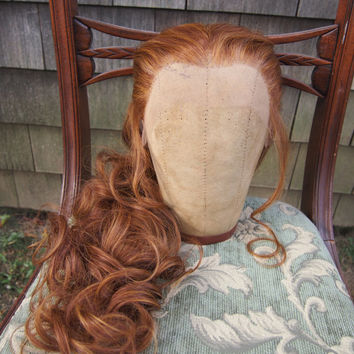 Fantine from Les Misérables Wig- Lace Front Theatrical Quality SALE